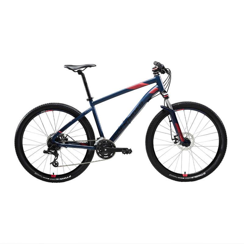BICICLETĂ MTB DRUMEȚII FEMEIE Ciclism - Bicicletă MTB ST 520 Damă  ROCKRIDER - Biciclete mountain bike