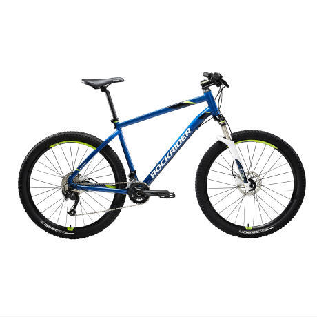 ROCKRIDER ST 540 MOUNTAIN BIKE BLUE YELLOW