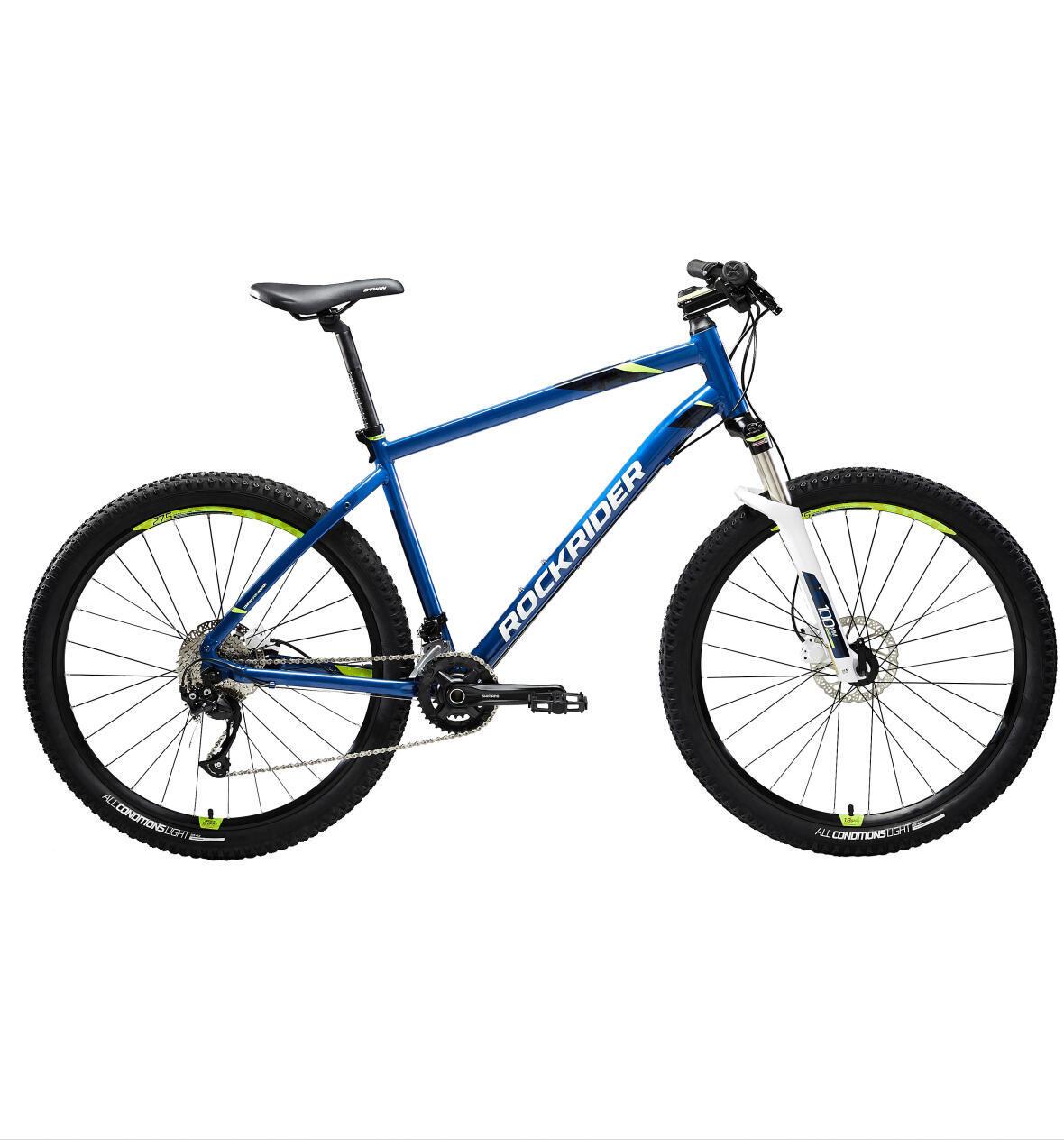 VTT ROCKRIDER ST 540 BLUE YELLOW