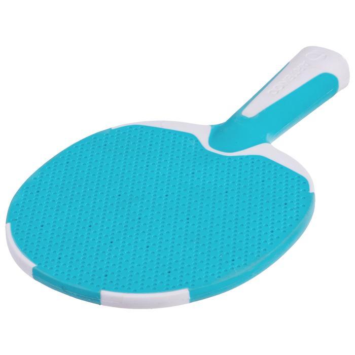 Tafeltennisset PPR 130 Outdoor 2 batjes + 3 balletjes 1* blauw