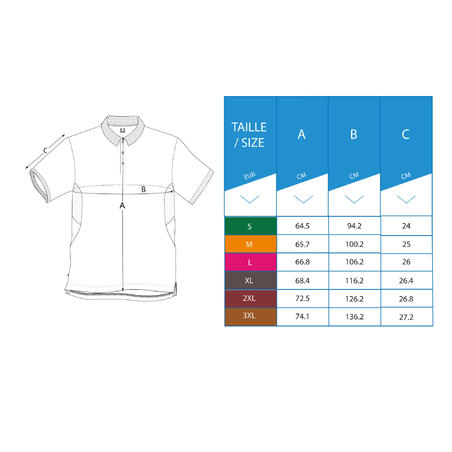 POLO DE GOLF POUR HOMME LIGHT MARINE