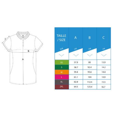 Kaus Polo Golf Wanita Breathable - Putih