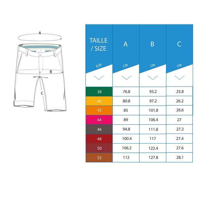 Golf Bermuda Shorts Herren blau/grau