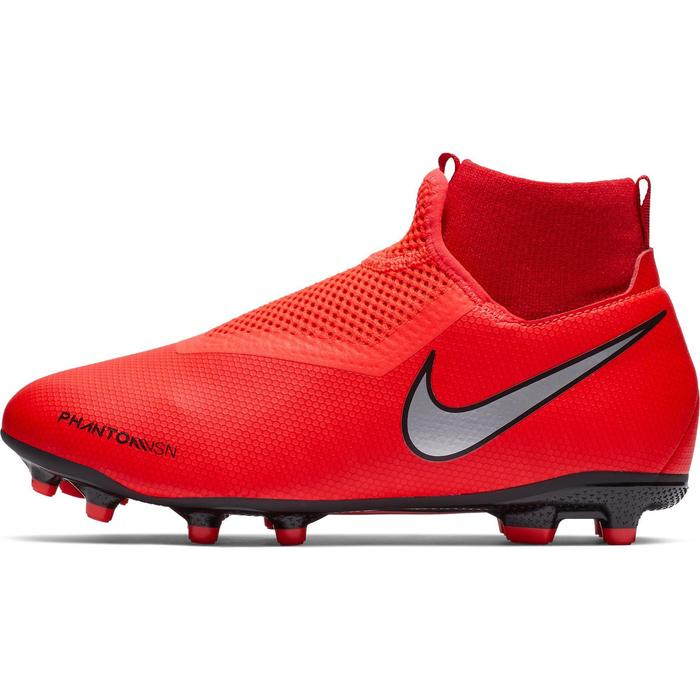 Voetbalschoenen kind Phantom Vision Academy Dynamic Fit MG rood