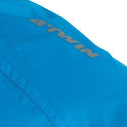 Regenjas fiets 300 voor kinderen blauw - 16391