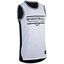 Basketballtrikot ärmellos wendbar Herren Fortgeschrittene