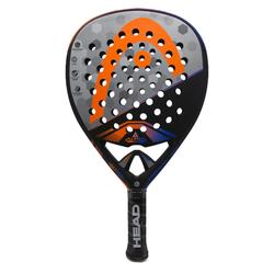 Pala Padel Head Touch Alpha Tour Adulto Negro Gris Naranja