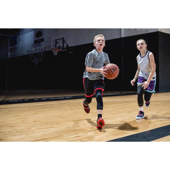 BT100 Kids' Size 5 Beginner Basketball, Under Age 10 - Orange