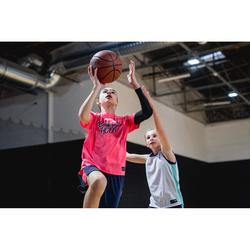 Beschermende beensleeve voor basketbal kind zwart