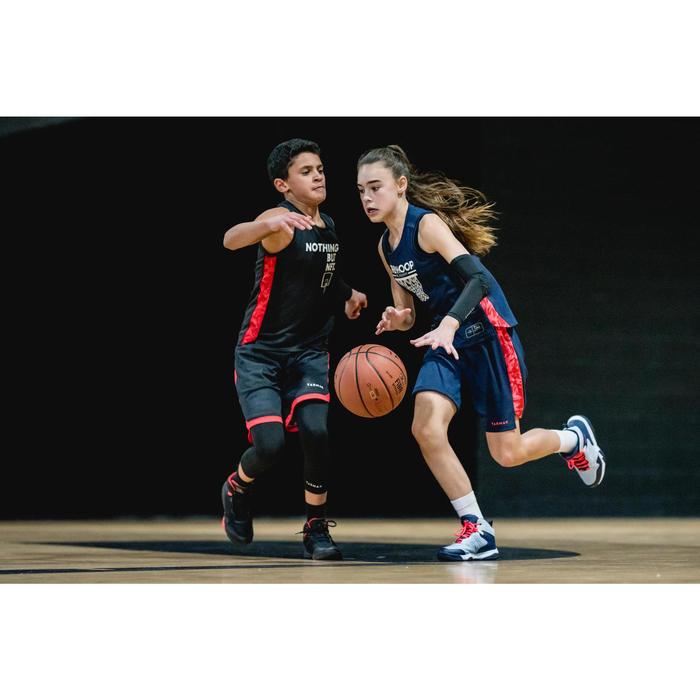 MAILLOT DE BASKETBALL POUR GARCON/FILLE CONFIRME(E) NAVY ROSE T500