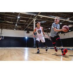 TS500 Boys'/Girls' Intermediate Basketball T-Shirt - Grey