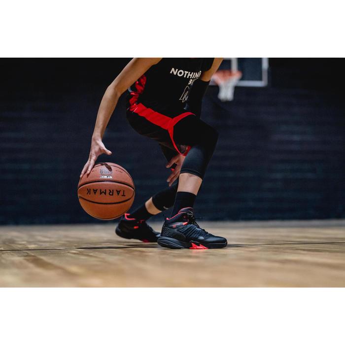 Basketballschuhe SS500H Jungen/Mädchen Fortgeschrittene schwarz
