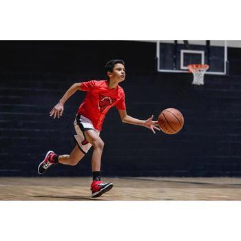 Basketballshirt BBL TS500 Kinder rot