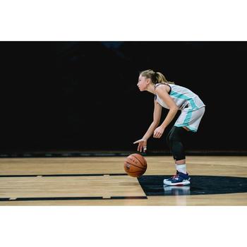 Wendetrikot Basketball T500R Kinder violett