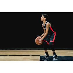 Basketbalschoenen SS500H zwart/wit (kinderen)