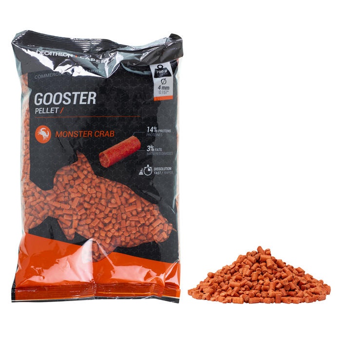 Gooster Pellets Monstercrab 4 mm 0,7 kg