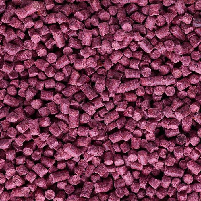 Gooster pellets knoflook 4 mm 0,7 kg paars voor karpervissen met vaste hengel