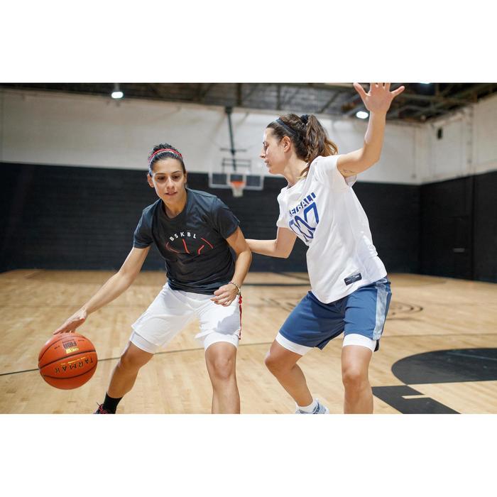 TS500 Women's Intermediate Basketball T-Shirt - White