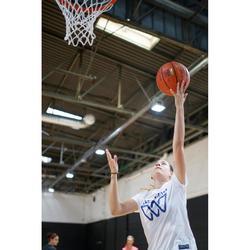 Basketbalshirt voor gevorderde dames wit BBL W TS500