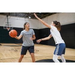 Basketballshirt BBL TS500 Damen weiß
