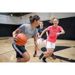 T-shirt voor basketbal gevorderde dames BSKBL TS500