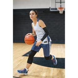 Basketbalshirt voor dames grijs navy T500