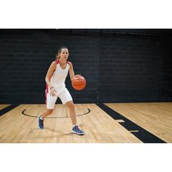 Ondershort voor basketbal dames wit USH500