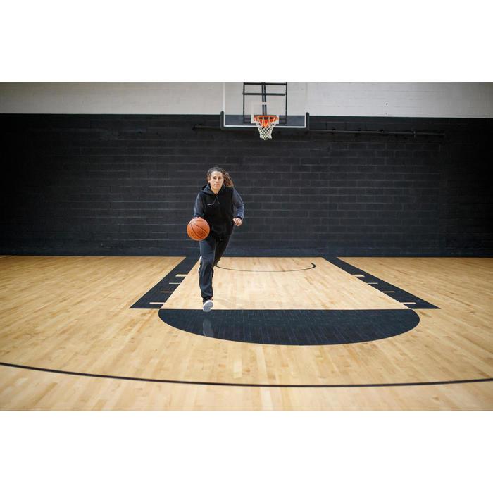Basketbalschoenen voor beginnende heren/dames hoog model Protect 100 zwart