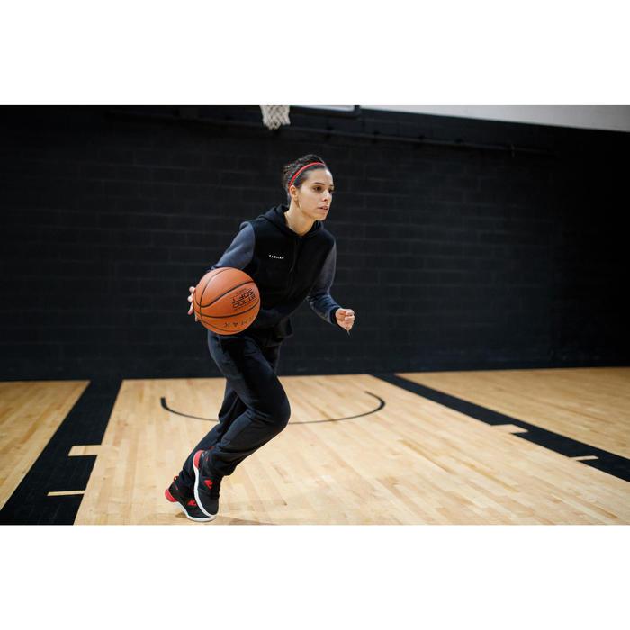 Basketbal joggingbroek P100 zwart (dames)