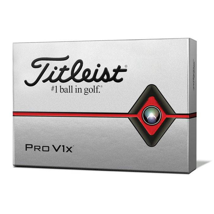 Golfbälle Pro V1X 2019 12 Stück weiß