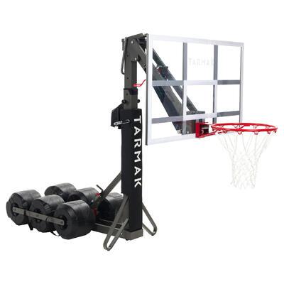 Canasta baloncesto niños/adulto B900. 2,40m a 3,05m. Se ajusta y guarda en 2 min