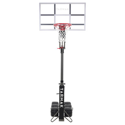 bef8643cddd B900 Kids'/Adult Basketball Hoop 2.4m to 3.05m. Set up and stored in 2  minutes.