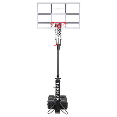 Kids'/Adult Basketball Hoop B9002.4m to 3.05m. Sets up and stores in 2 minutes