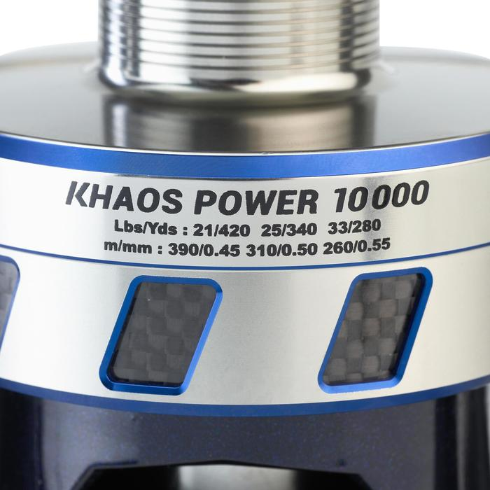 Angelrolle Khaos 10.000 Power exotisch