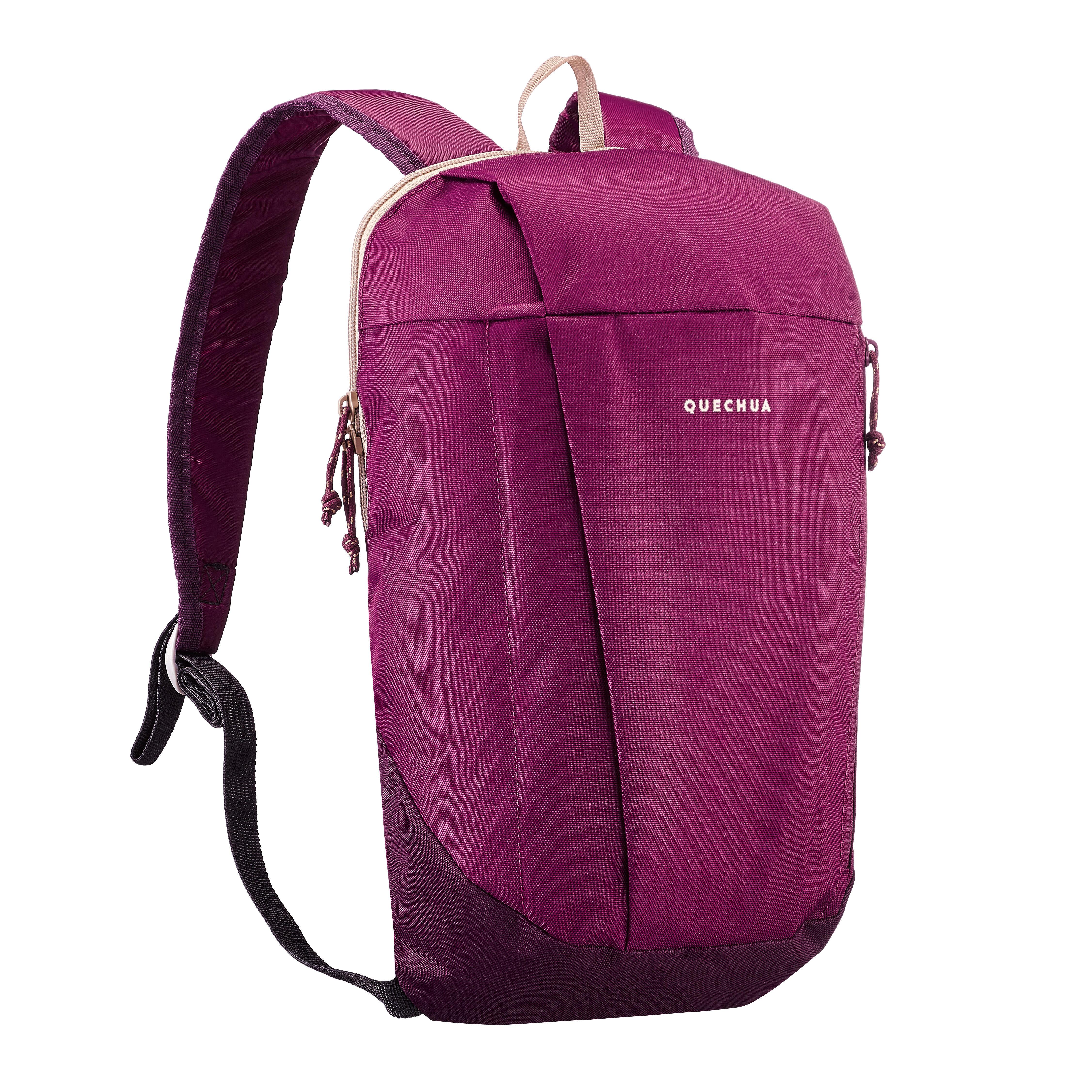 Mochila de senderismo naturaleza NH100 10 L violeta intenso