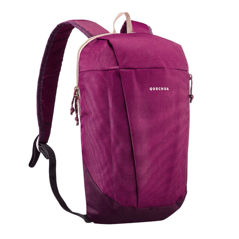 10L TO 30L NATURE HIKING BACKPACKS - NH100 10L Backpack - Dark Purple