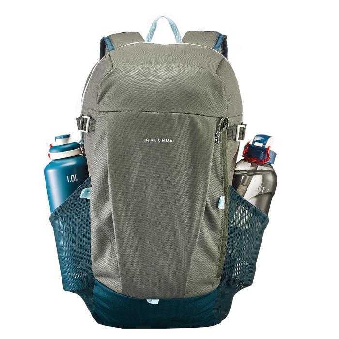 Rucksack Naturwandern NH100 20 Liter grau/petrol