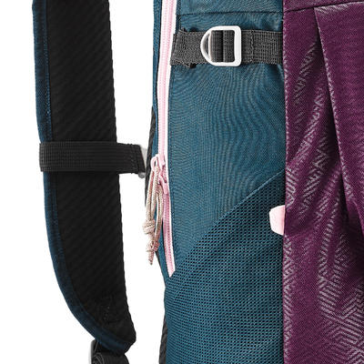 Рюкзак NH100 для туризму, 20 л - Темно-пурпуровий
