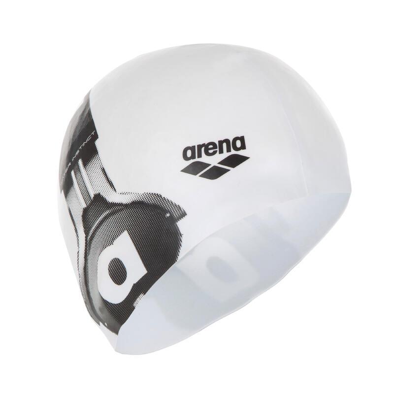 Bonnet en silicone Arena Poolish Blanc