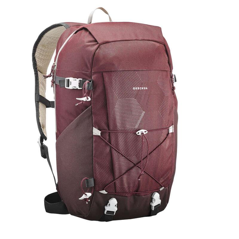 ZAINI MONTAGNA 10 - 30 LITRI Sport di Montagna - Zaino NH100 30L bordeaux QUECHUA - Materiale Trekking