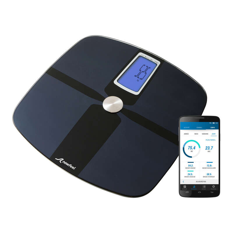 TRACKERS PEDOMETERS OR SCALES Activity Trackers - SCALE 700 CONNECTED SCALES NEWFEEL - Activity Trackers