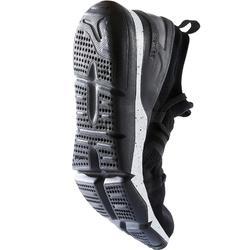 Chaussures marche sportive femme PW 140 Knit Double noir