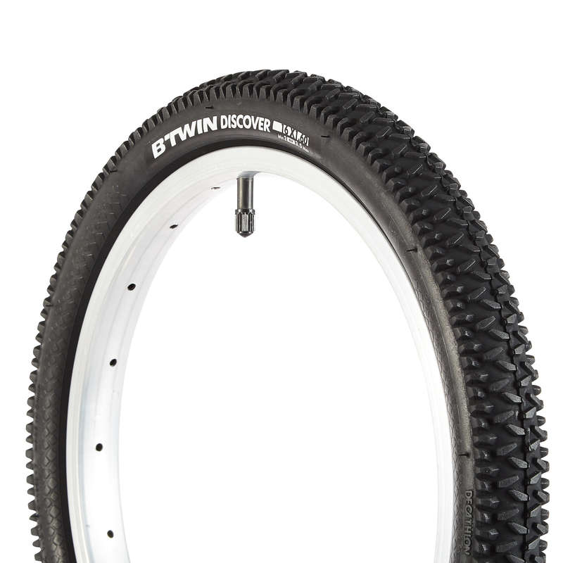 TYRES Cycling - Kids' Bike Tyre 16X1.60 B'TWIN - Cycling