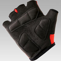 500 Kid's Cycling Gloves - Red