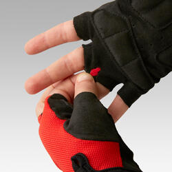 Fietshandschoenen 500 kinderen rood