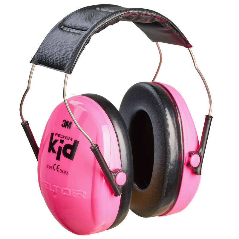 HEARING PROTECTION/GLASSES Shooting and Hunting - PELTOR JUNIOR Ear Defenders - PINK  PELTOR - Clay Pigeon Shooting