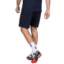 Chaussettes de handball H500 blanc/noir