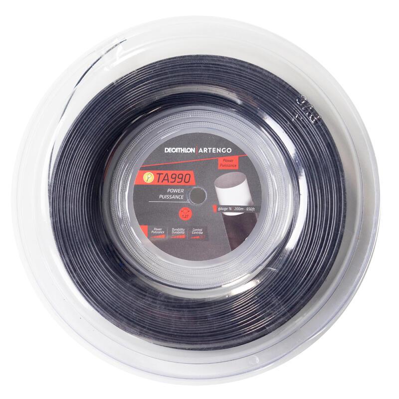 Corda tennis monofilamento TA 990 POWER 1.27mm 200m nera