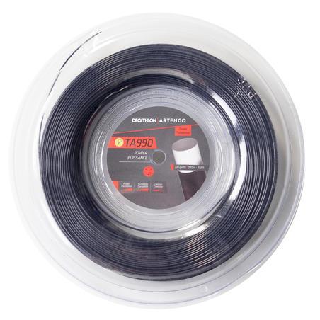 TA990 Power 1.27 mm Monofilament Tennis String 200 m - Black