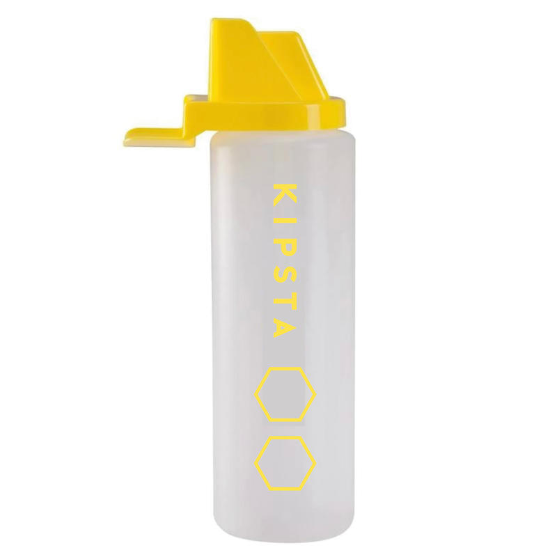Hygienic 1 Litre Water Bottle - White/Yellow